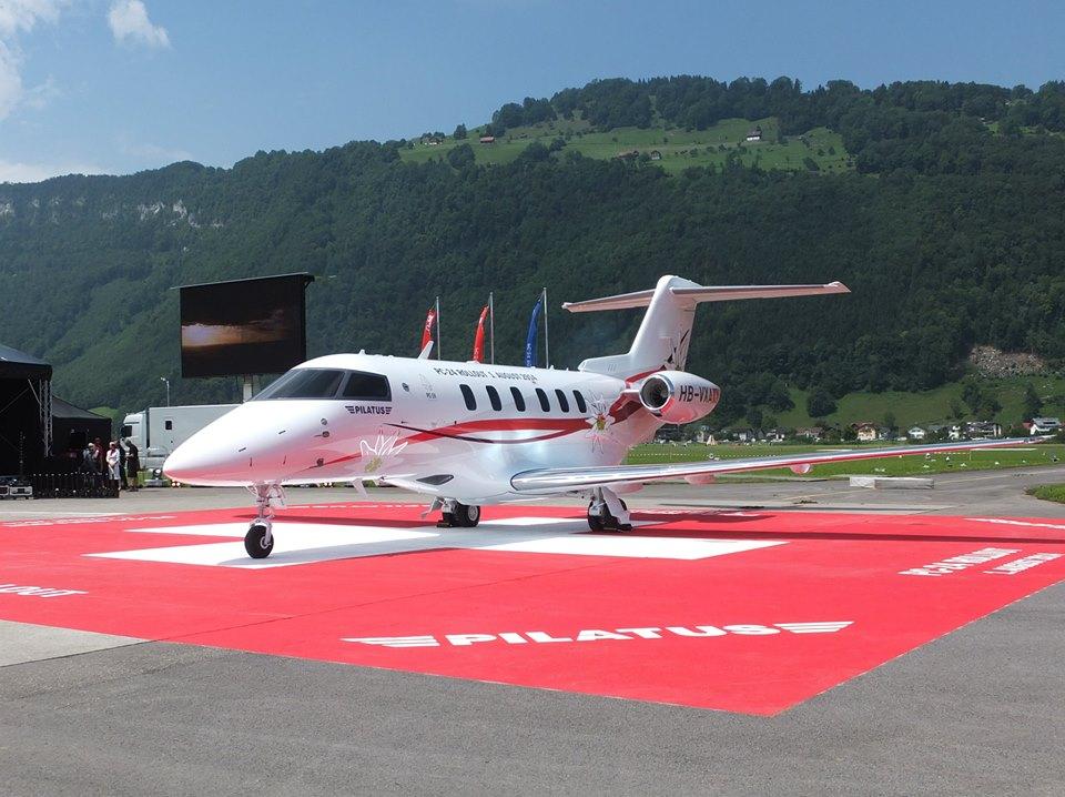 Pilatus Aircraft's business jet, the PC-24