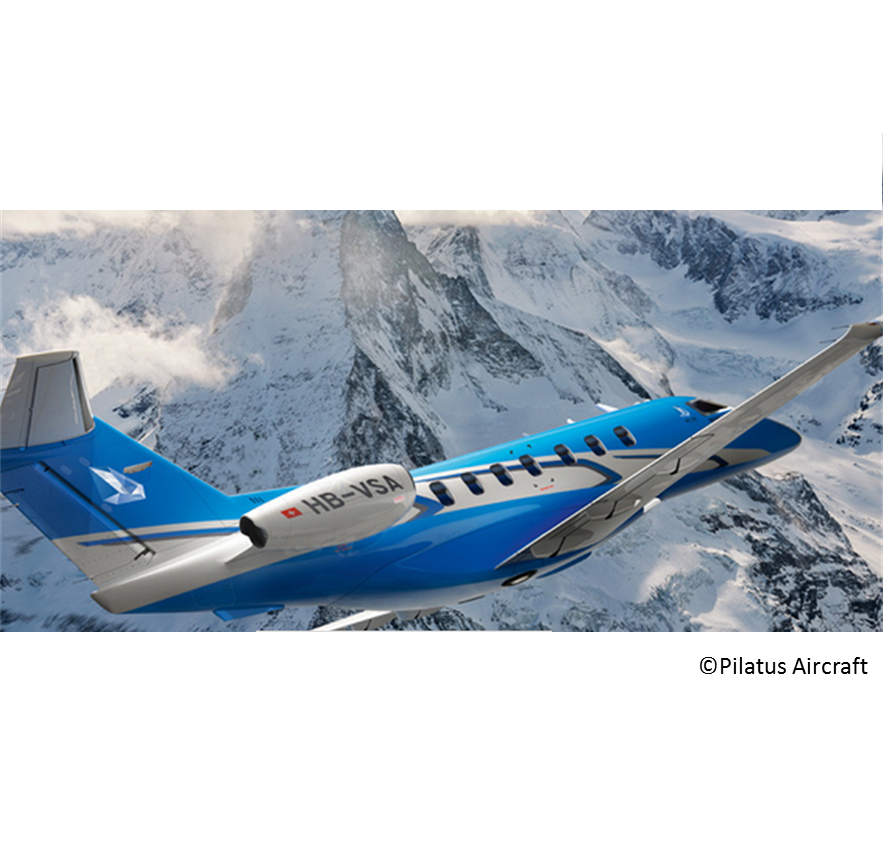Pilatus Aircraft Pc-24 first flight reliability maintainability safety