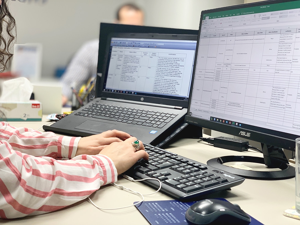Computer working DMD Office