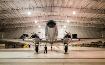 How to prepare for and mantain an aircraft in storage